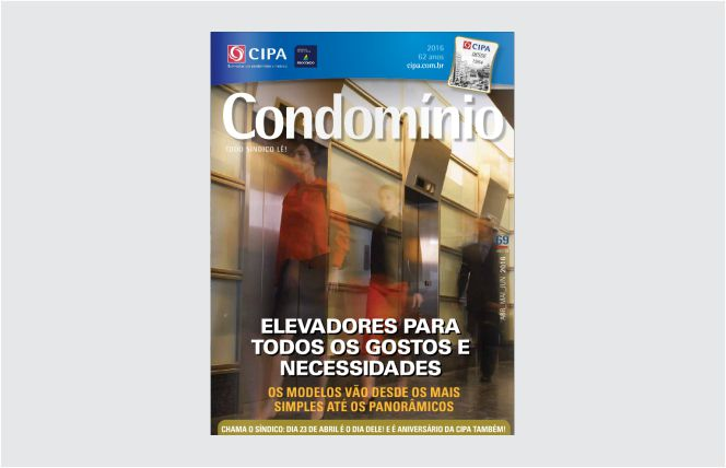 Capa Revista Condomínio. Edição 69